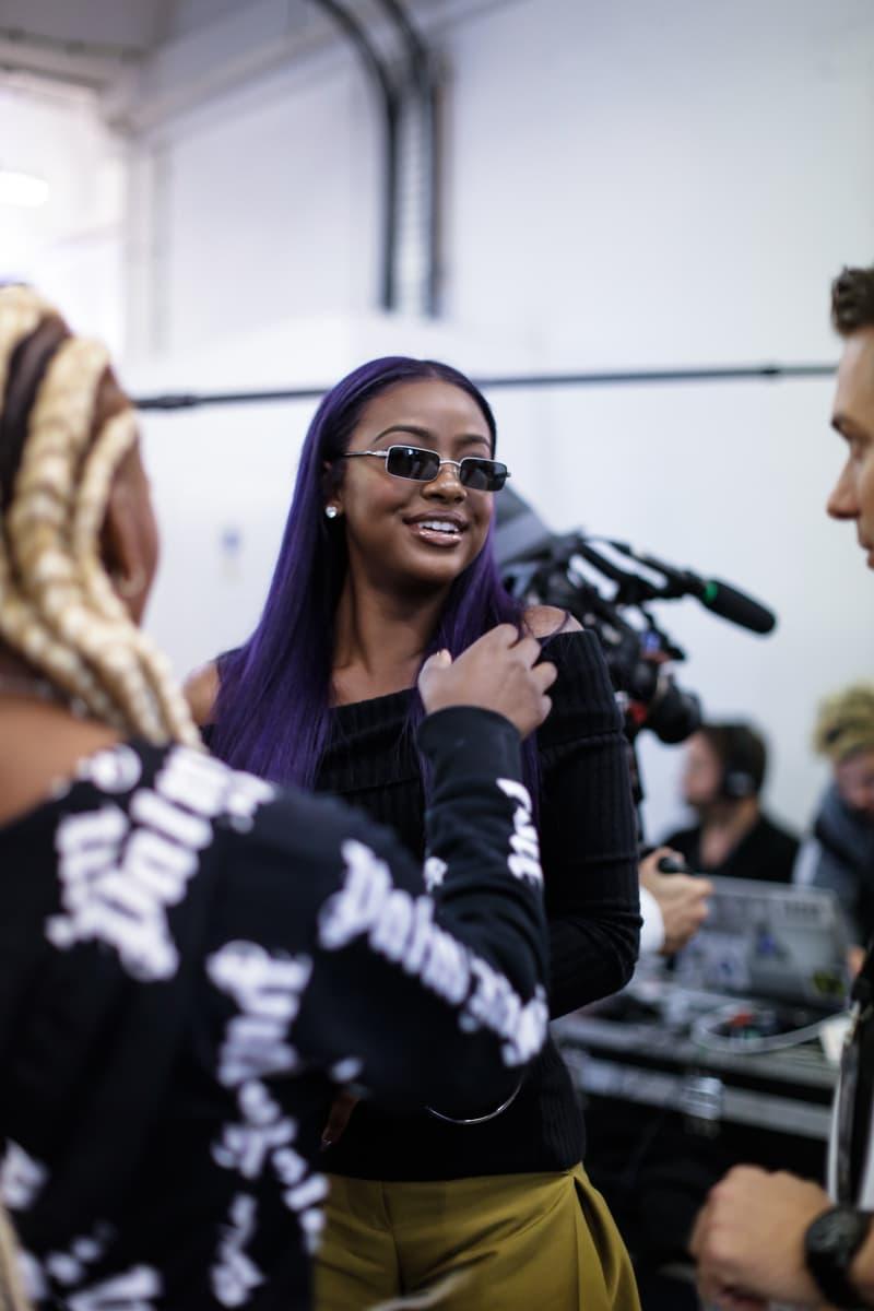 Hailey Baldwin adidas JD sports interview backstage