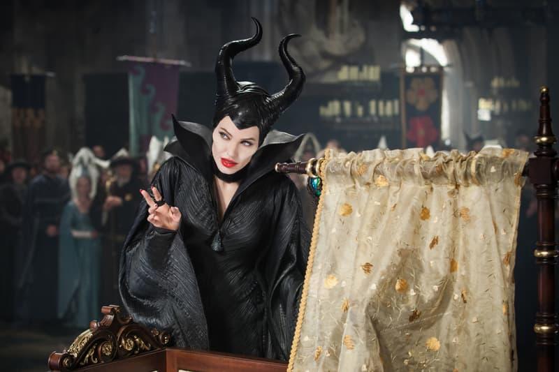 Angelina Jolie Maleficent Disney Villain Movie Hollywood Actor Disney Elle Fanning