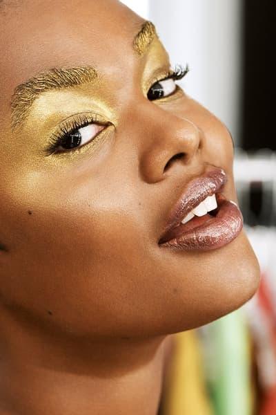 e.l.f. elf Cosmetics Runway Inspired Makeup Bundles Christian Siriano Gold Fuchsia Blue Navy Bold Glam Backstage Fashion NYFW