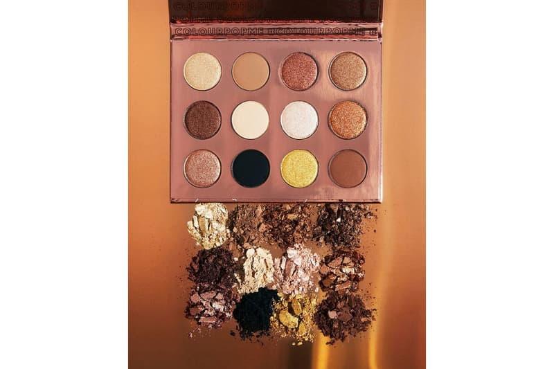 ColourPop Cosmetics Makeup Eyeshadow Palette Bronze Gold Nude Neutrals Beige Brown