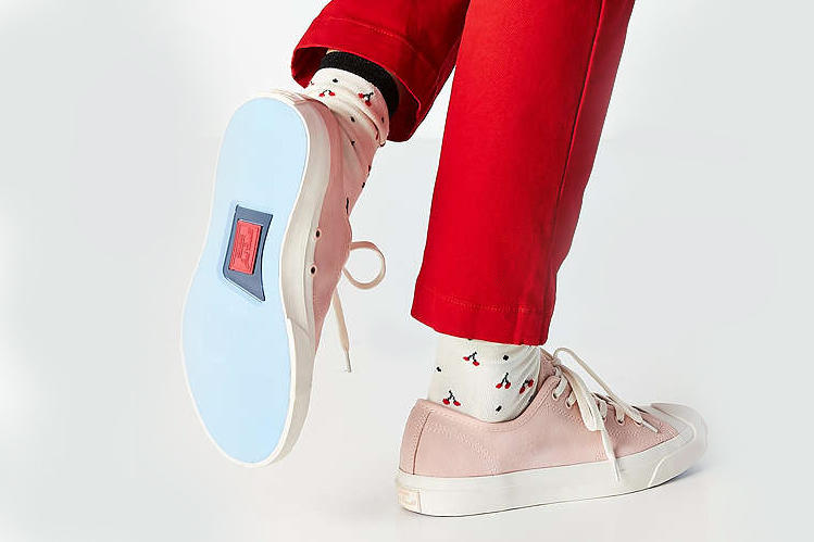 Converse All Star Jack Purcell Millennial Pink Silhouette Iconic Retro Pastel Classic Sneaker