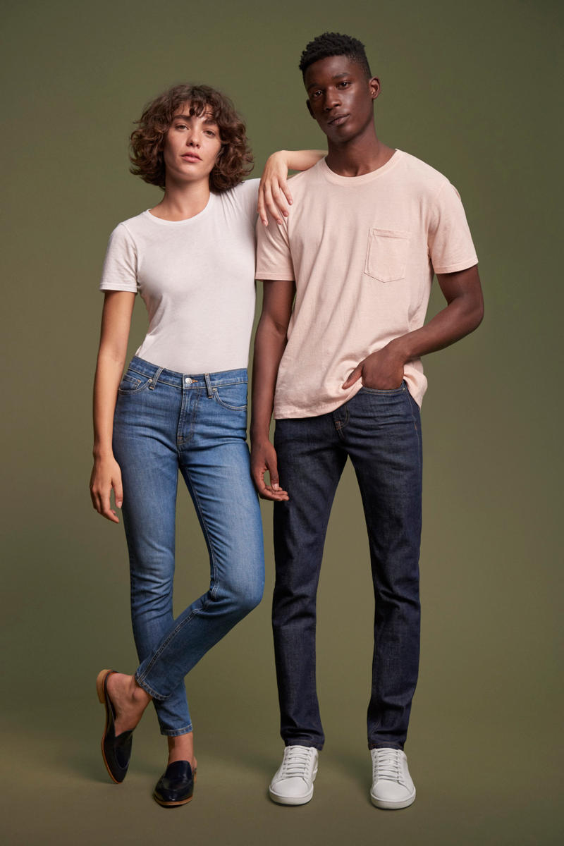 Everlane Denim Ethically Made Sustainable Environment Jeans Wash Boyfriend High Rise Mid Rise Skinny
