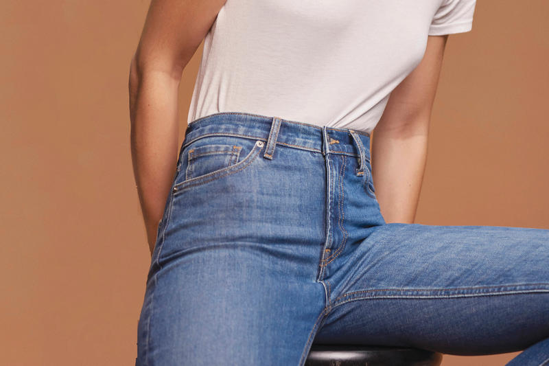 Everlane Ethical Denim Collection Jeans Colorways Washes Boyfried Skinny High Waist International Free Shipping Sale