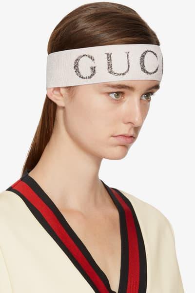Gucci Headband Ssense Accessories Fall Hat Logo Statement Classic