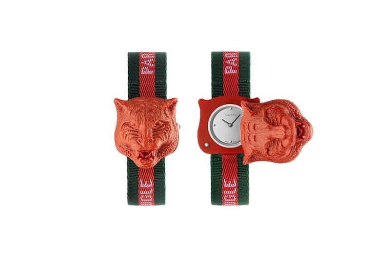 Gucci Watch Accessory Tiger Alessandro Michele Stripes Rainbow Gucci's Le Marché des Merveilles
