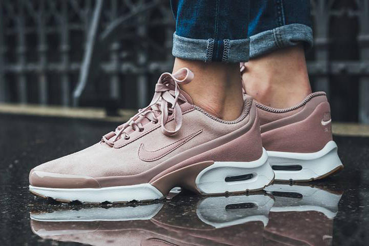 the best attitude 762b2 89877 Nike Air Max Jewel Particle Pink Sneaker Shoe Silhouette Trainer Millennial  Pink Pastel Pink Copper White