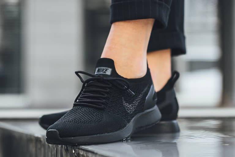 Nike Air Zoom Mariah Flyknit Racer Pale Grey Black Running Shoe Sneaker  Footwear Training d1b7f0f2ed