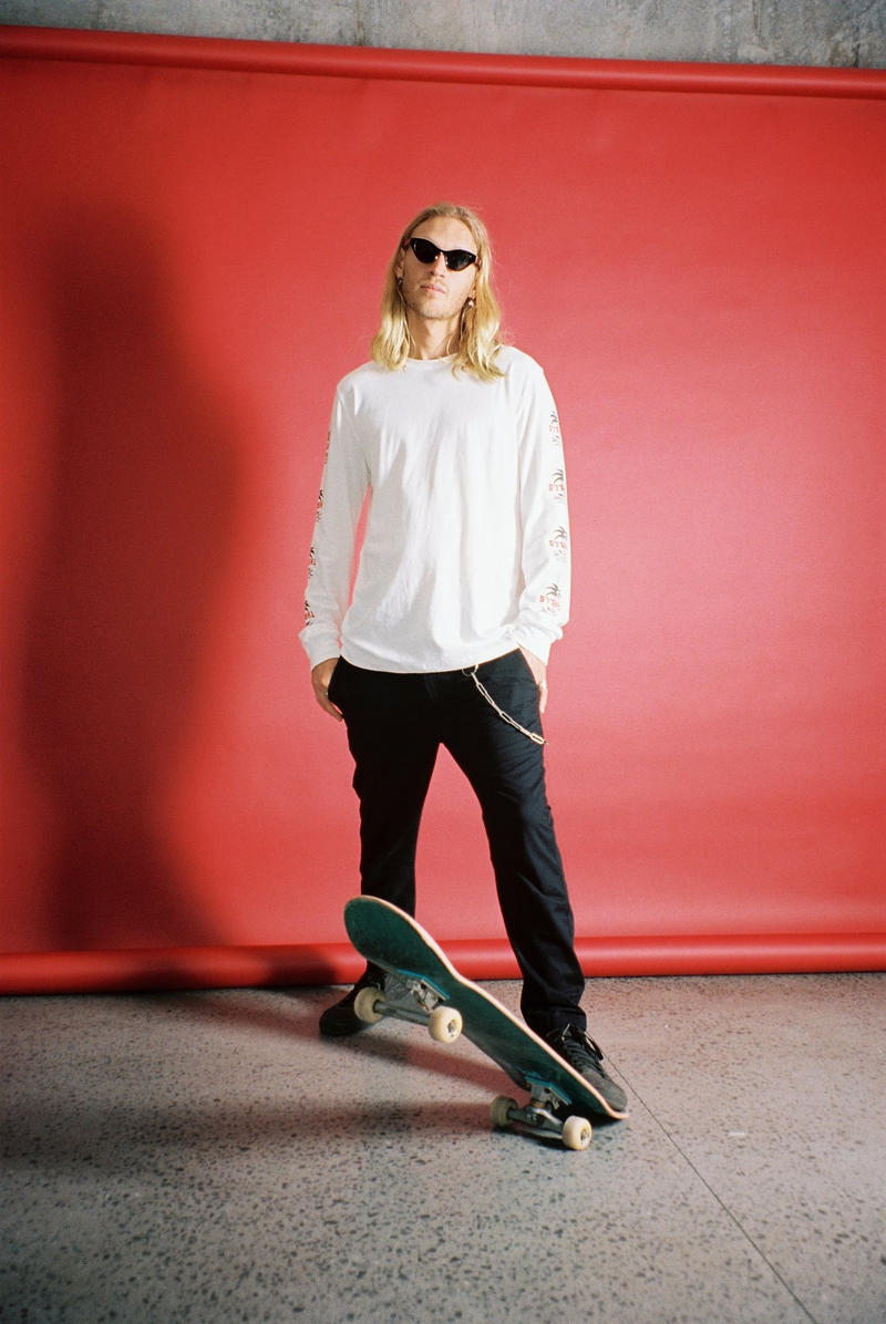 THRILLS Support Independent Collection Marcus Dixon Australia Fashion Skate Streetwear Lookbook Edgy