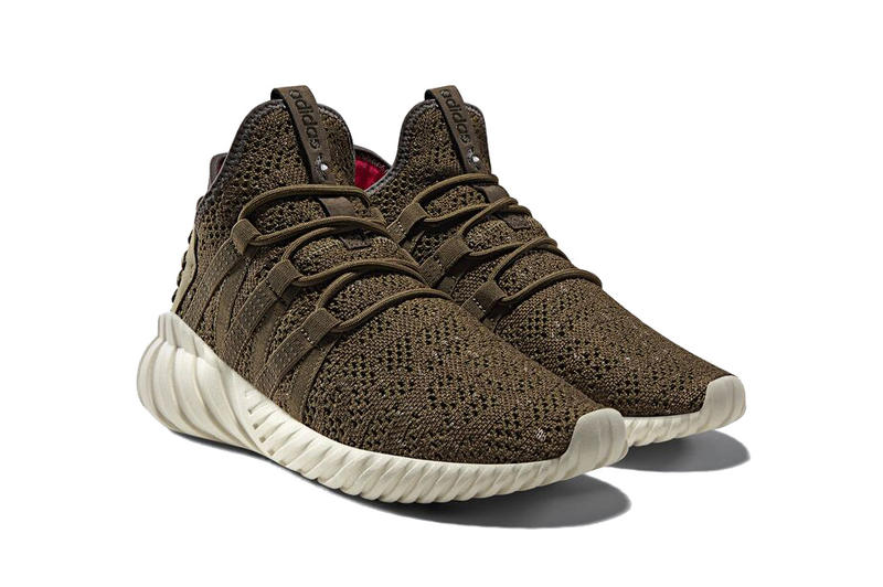 adidas Originals Tubular Dawn Colorway Shoes Sneakers Footwear Silhouette Utility Black Trace Olive