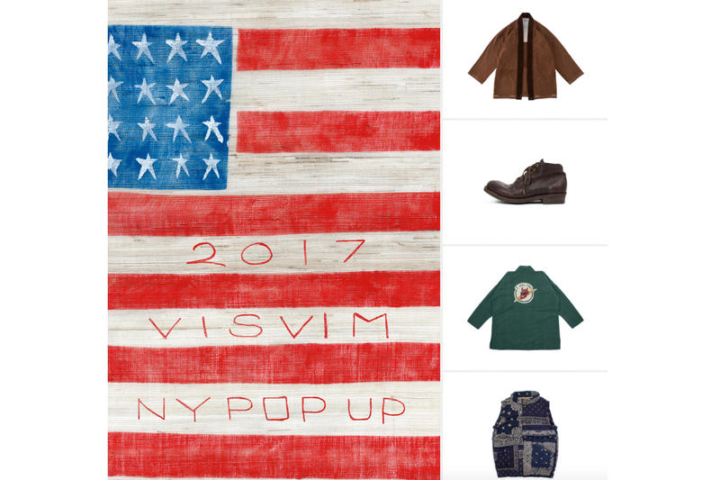 Visvim Japanese Brand Store Opening Tribeca NYC WMN Clothes Retail Shop New York