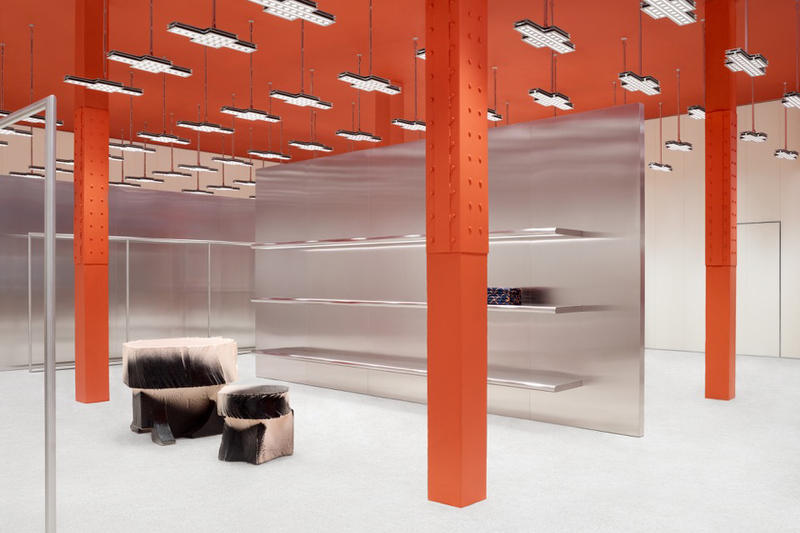 Acne Studios First San Francisco Store Flagship Orange Design Interior Swedish Scandinavia