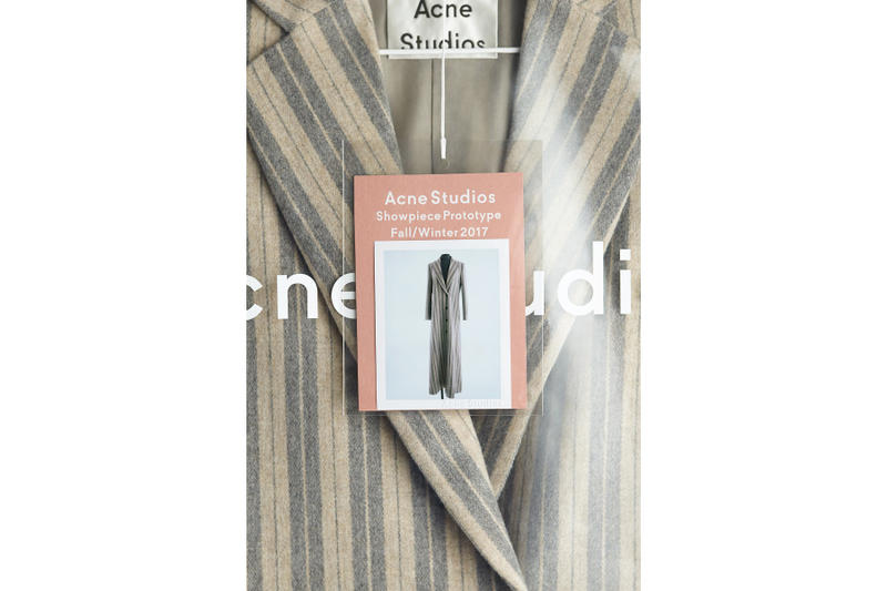 Acne Studios Collection Fashion Week Showpiece Prototype Fall Winter Scandinavian Exclusive Bespoke Unique