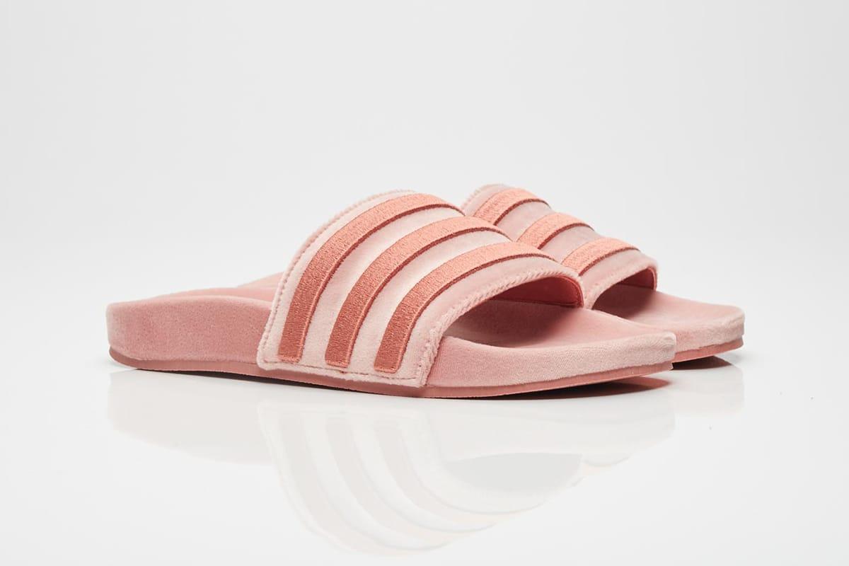 adidas Originals Adilette Slide in Raw