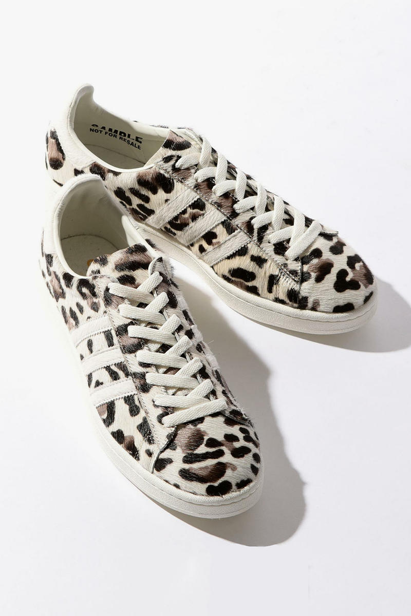 BEAUTY and YOUTH adidas Originals Campus Leopard Hair Purple Suede Japan