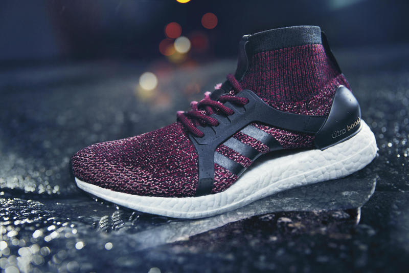 adidas Originals UltraBOOST All Terrain Mystery Ruby Core Black Running Primeknit All Terrain