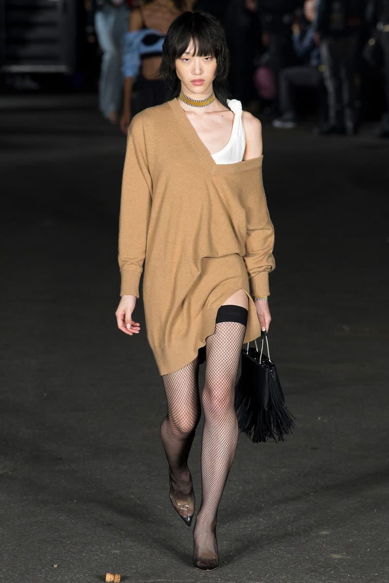 alexander wang new york fashion week ss18 nyfw bella hadid kendall jenner kiko mizuhara