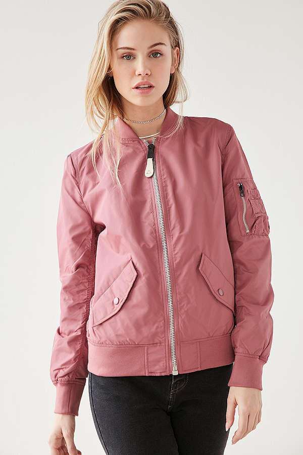 Alpha Industries L2B Flight Jacket Pink