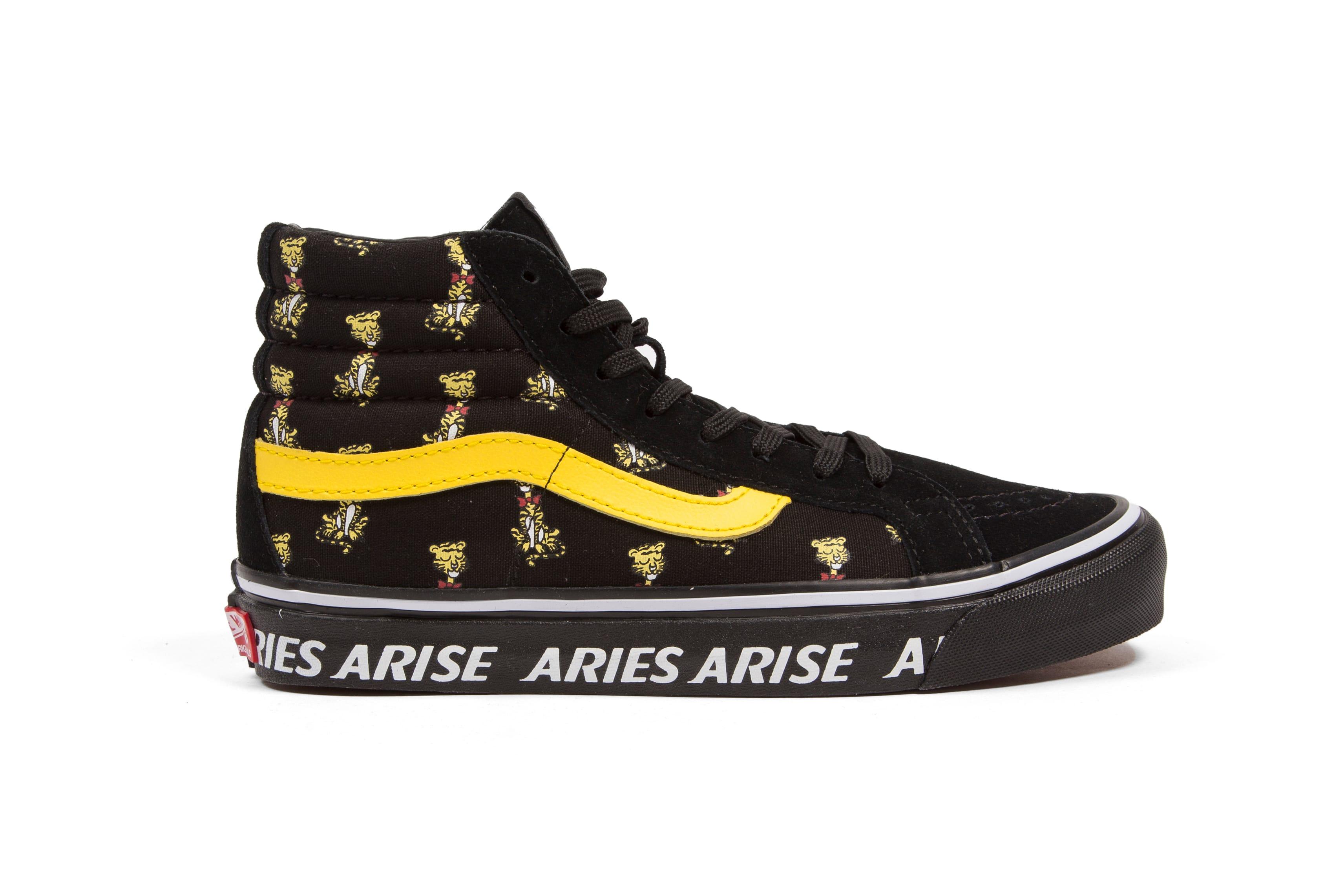 Aries x Vans Limited Edition Capsule