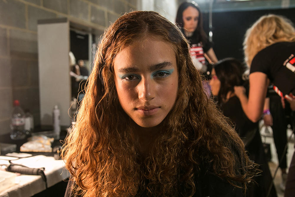House of Holland Henry 2018 spring summer backstage beauty london fashion week LFW