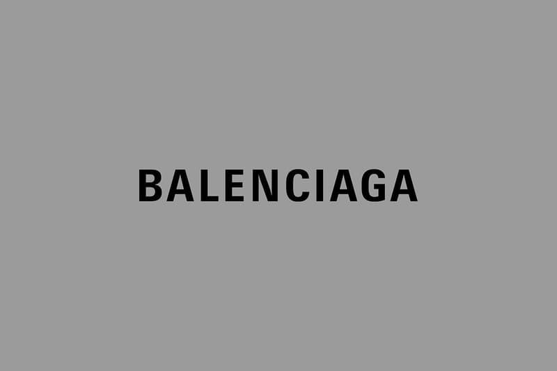 New Balenciaga Logo Demna Gvasalia
