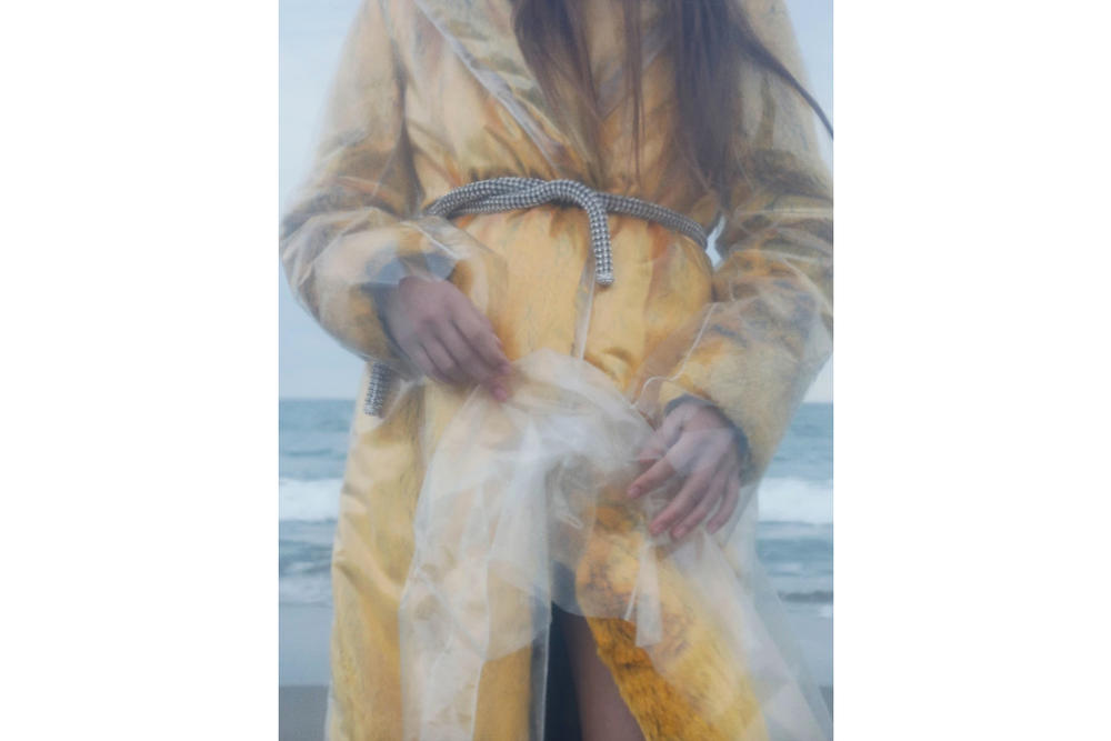 Calvin Klein SSENSE Editorial Raf Simons CK Beach Photography Melancholy Fashion Wet Beach Shoot