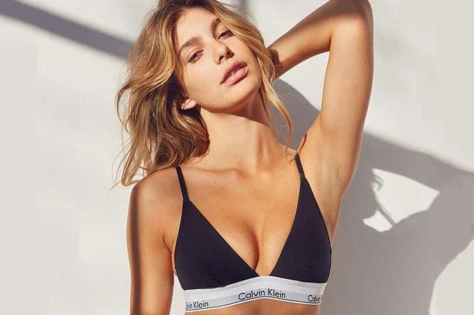 b70e068a82 Calvin Klein s New Comfy Triangle Bralette