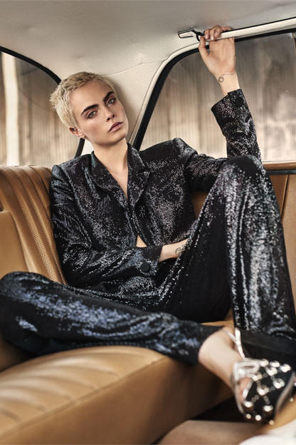Cara Delevingne Mirror Mirror Book Net A Porter Feature Book Interview Photoshoot Video Balenciaga Personal Questions Editorial