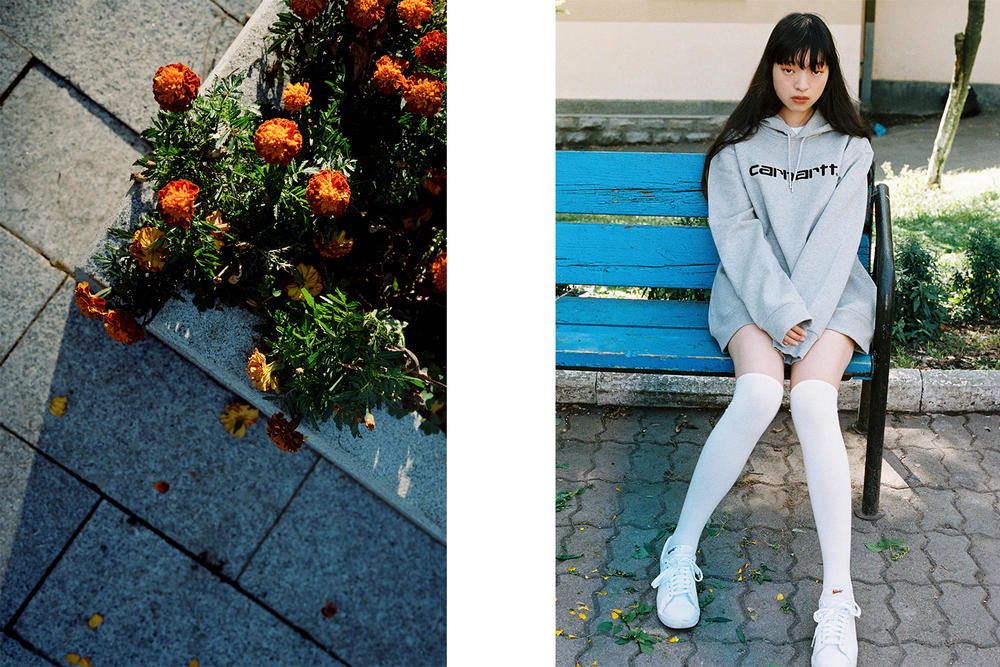 Carhartt WIP Korea Fall Winter 2017 Editorial Lookbook Collection Seoul