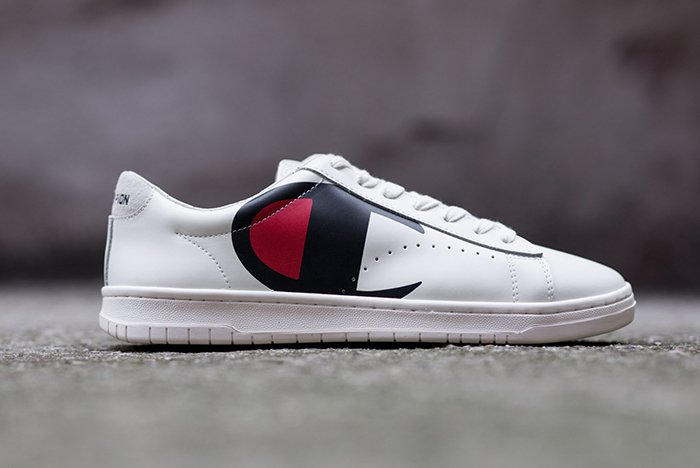 41dca5aba285e Champion Sneakers 919 Corporate Low Mercury Low Footwear Shoes Logo Retro Leather  Black White Classic