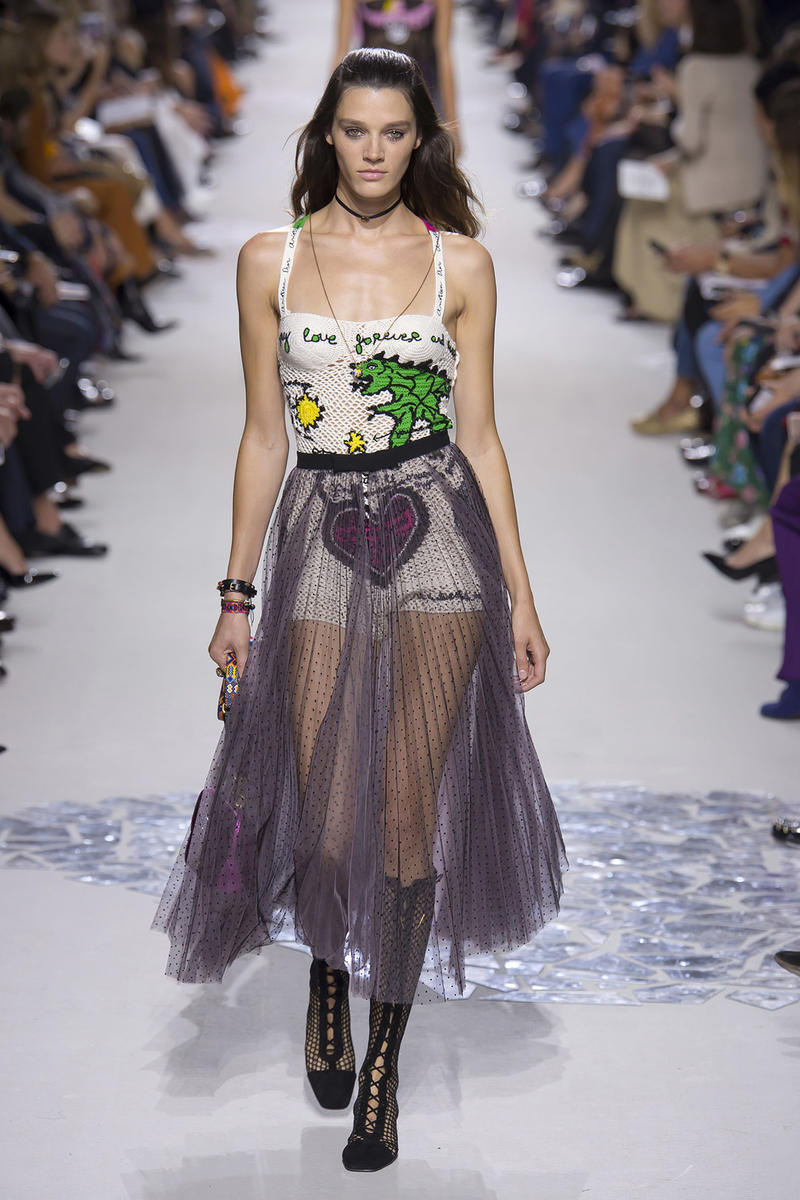 Christian Dior Spring Summer 2018 Collection Maria Grazia Chiuri