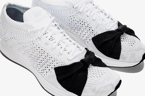 973f680d91a65 COMME des GARÇONS x Nike Team Up on a Bow-Topped Flyknit Racer