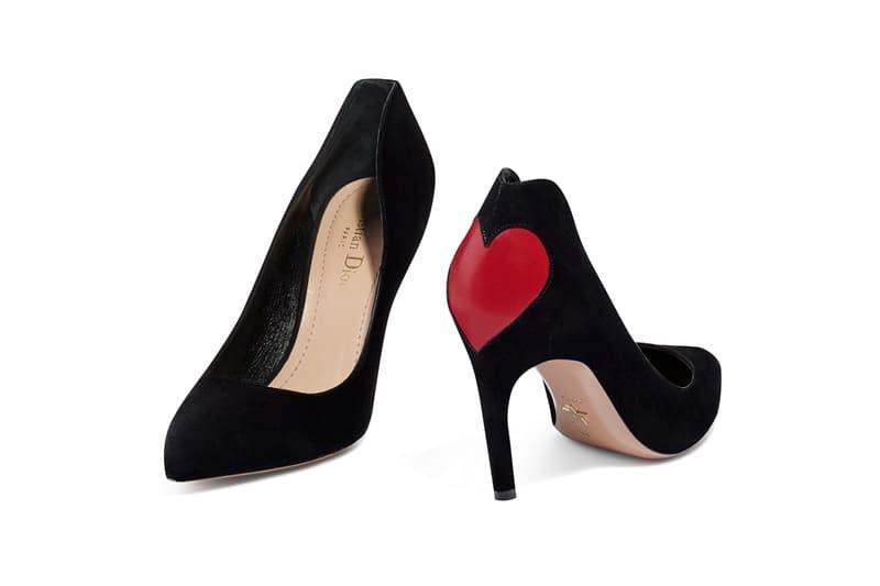Dior Amour Pumps Ballerinas Shoes Footwear Heels Hearts Embroidery Heart Love Classic Talon Choc Maria Grazia Chiuri