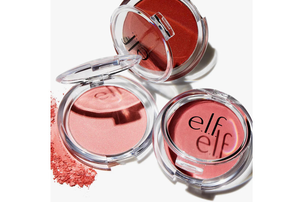 elf Cosmetics 30 Days of NEW NEW Makeup Products September 2017 Lipstick Sponge Blush Highlighter Bronzer Brushes