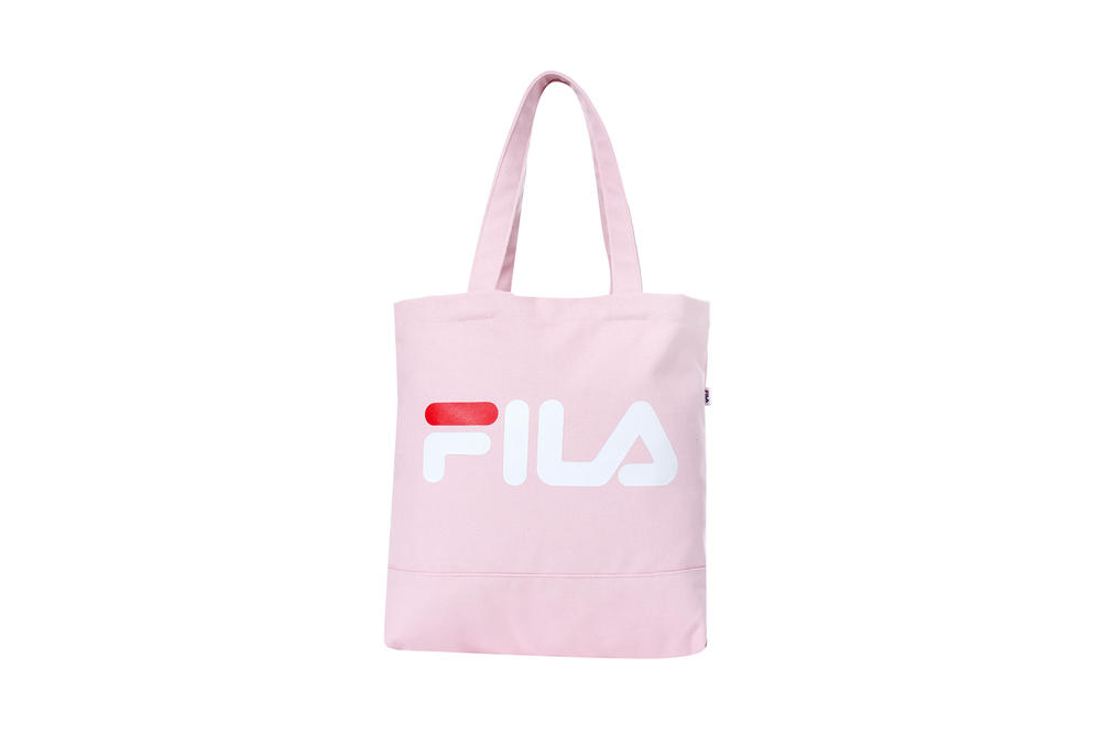 FILA Coat Eco Bag Pink