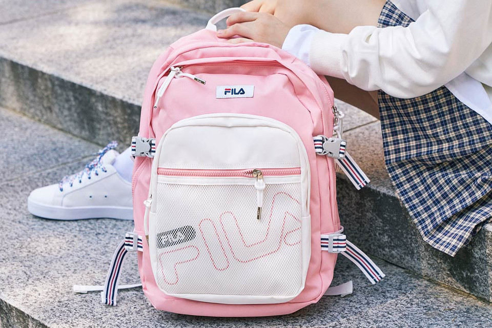 0ef5fb993e6 FILA's Semester Backpack Arrives in Pastel Pink | HYPEBAE