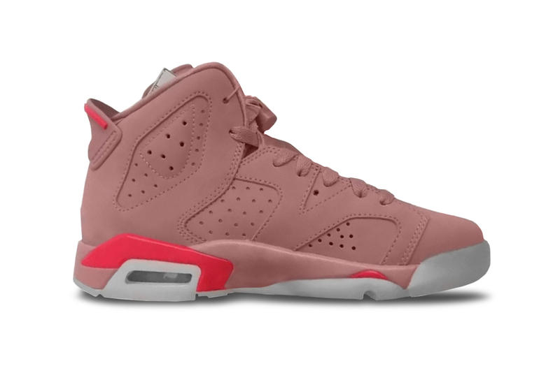 Aleali May Debuts Air Jordan 6 Millennial Pink Classic Jordan Brand Friends And Family Exclusive Sample Basketball Sneakers Shoes