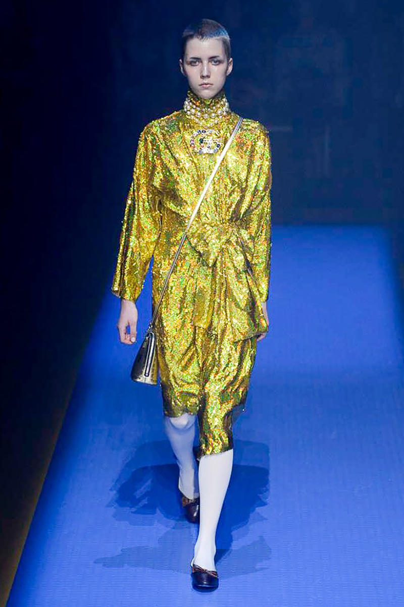 Gucci Spring Summer 2018 Collection Alessandro Michele Runway Milan Fashion Week