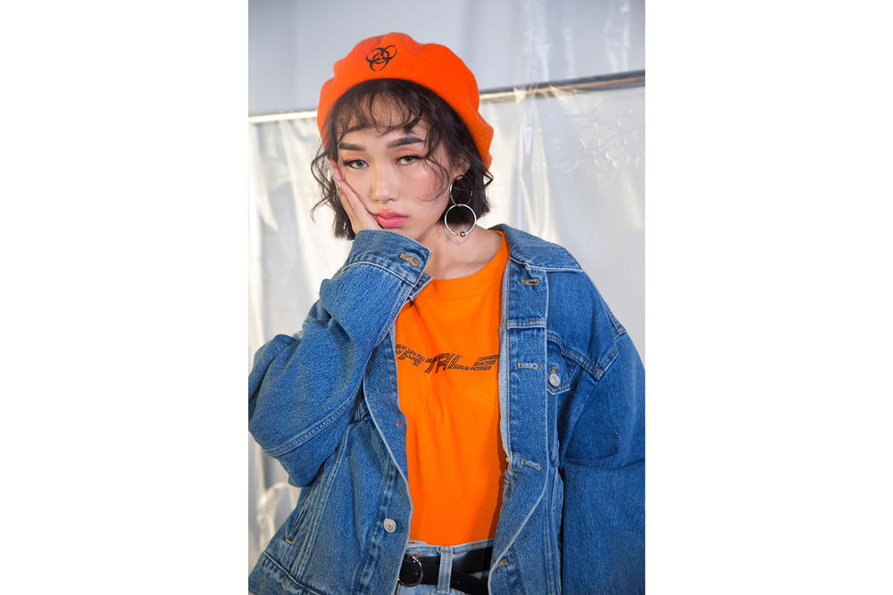 IAMKARENO Karen Yeung UMO Style Drop 2 Lookbook Collection Nostalgia T-Shirt Beret