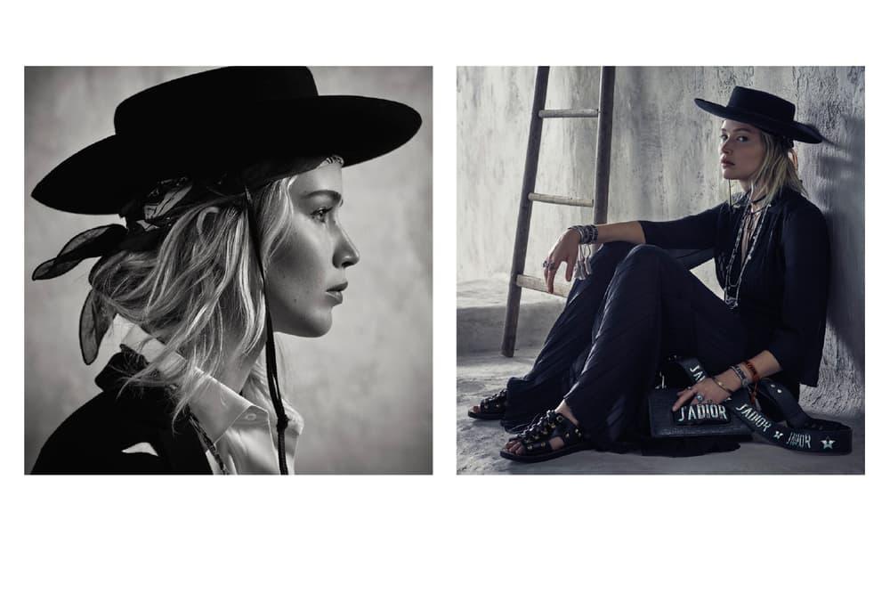 Jennifer Lawrence Dior Cruise 2018 Campaign