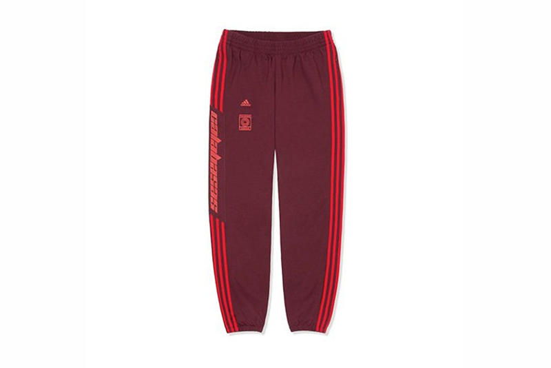 e089e22b8ad Find out when and where to cop. Kanye West adidas Originals YEEZY Calabasas  Track Pant Scarlet Red Black