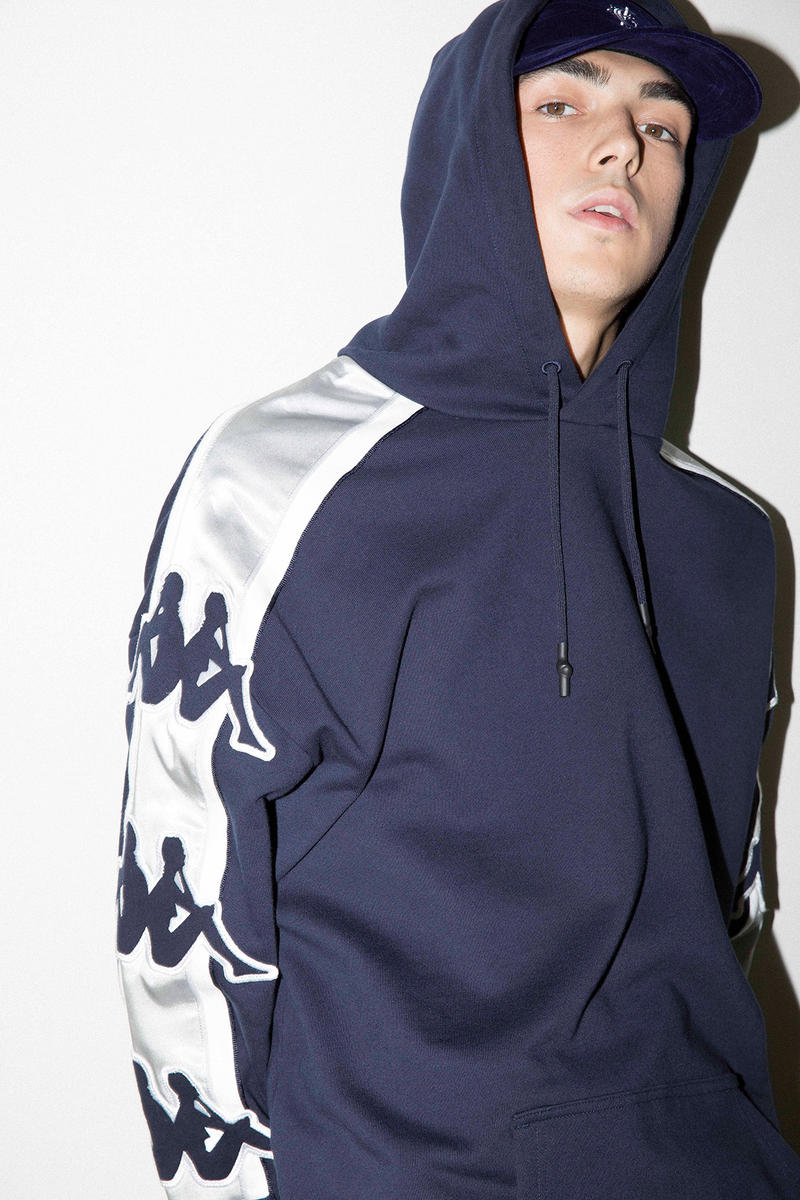 kappa banda fall winter 2017 collection tracksuits hoodies mocknecks