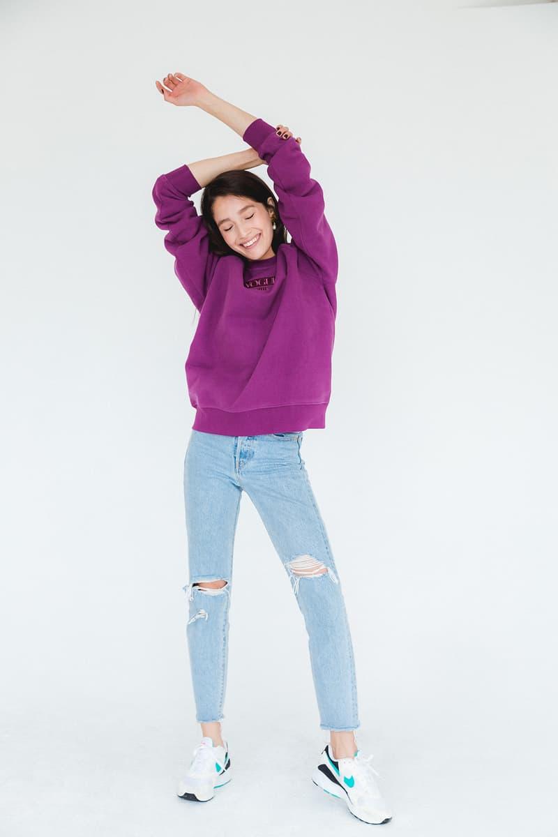 KITH Women Vogue Magazine 125th Anniversary Collaboration Capsule Collection Hoodie Sweatshirt Crewneck Sweater Rainbow