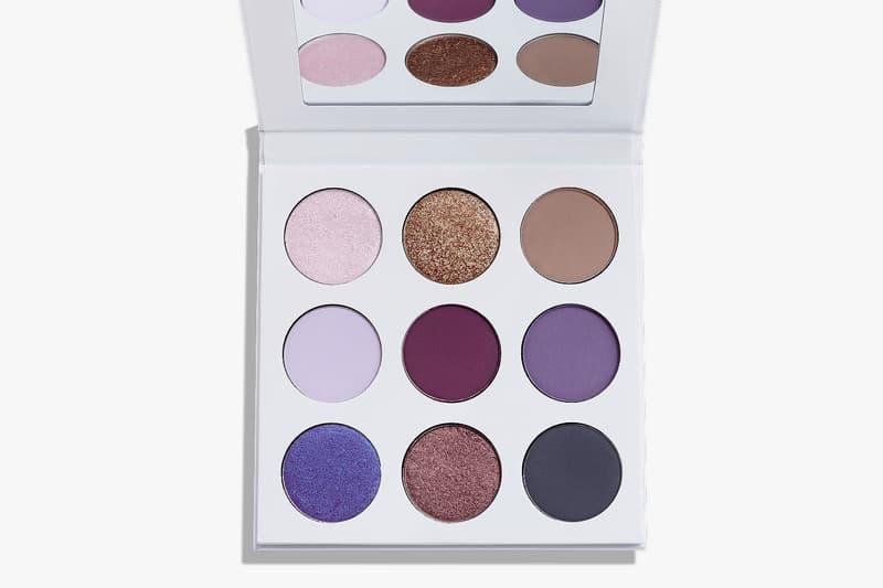 Kylie Jenner Cosmetics Purple Eyeshadow Palette Glitter Shimmer Matte Release Date