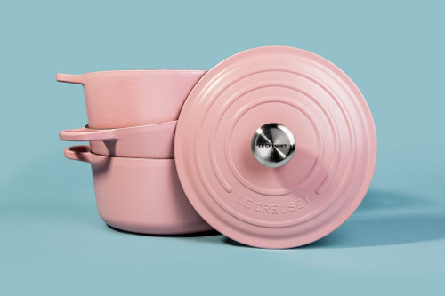 2a859b205aa Add Millennial Pink to Your Kitchen With Le Creuset s New Pots and Pans