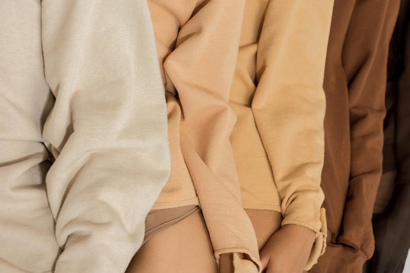 Collina Strada Skintones Collections Diversity Need Supply Co. Clothes Fashion Sweatshirts Nude Campaign Awareness Social Commentary
