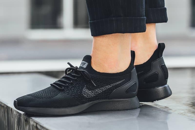 Nike Air Zoom Mariah Flyknit Racer Pale Grey Black Running Shoe Sneaker Footwear Training