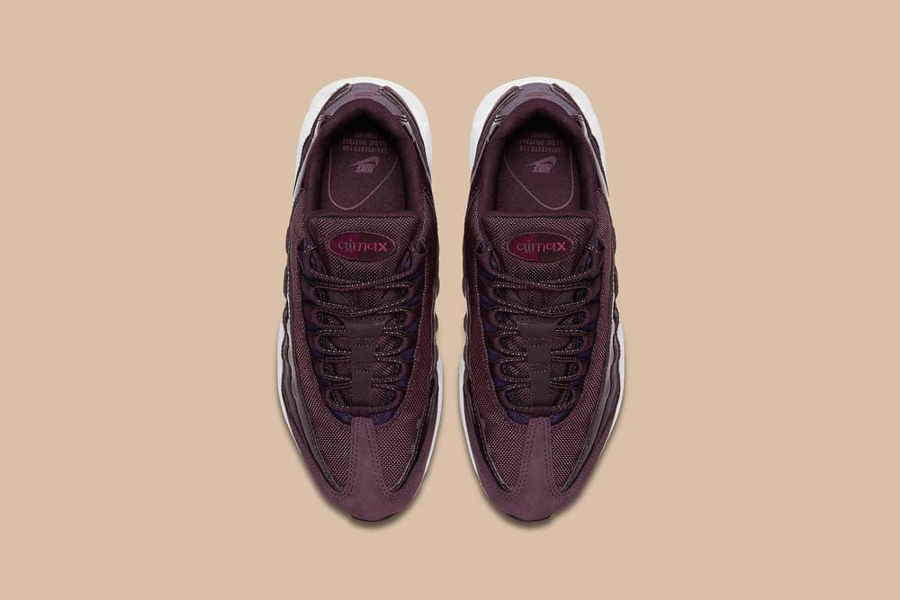 Nike Air Max 95 Bordeaux Maroon Burgundy