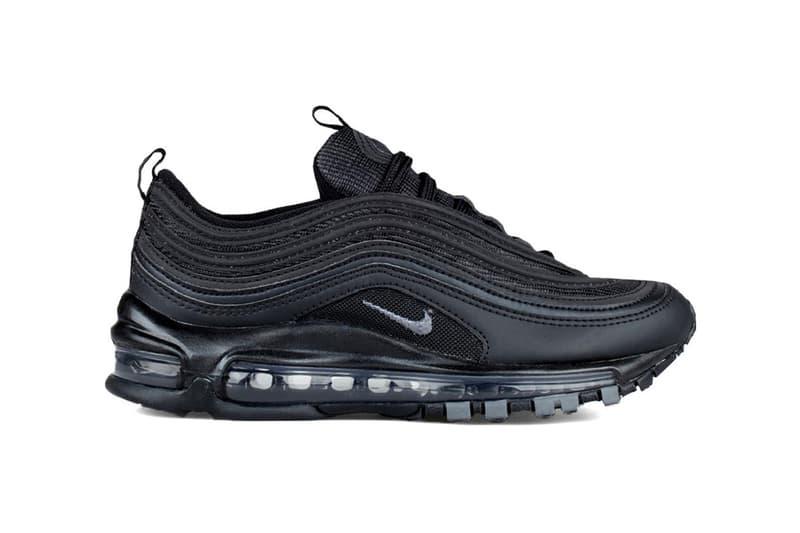 new styles c2523 64e33 Nike Air Max 97 Triple Black. 1 of 3. Sneaker News
