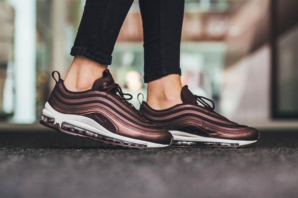 the latest fad2b 57c1f Nike Air Max 97 Ultra Metallic Mahogany. 1 of 3