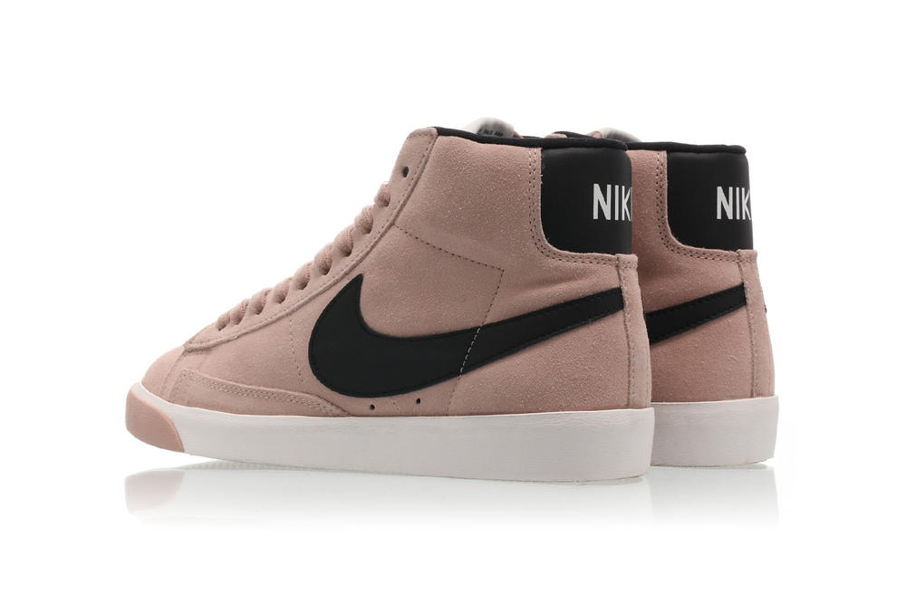 28878a3b11c Nike Blazer Mid Vintage Suede in Particle Pink